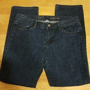Ann Taylor Loft 8P jeans